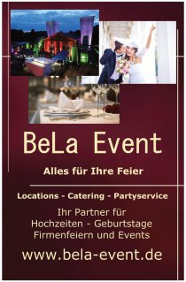 BeLa Event - Location mieten, Catering, Partyausstattung und Hochzeit